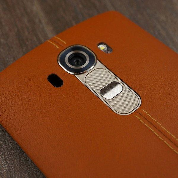 смартфон, LG, Android, смартфон, Обзор «кожаного» флагмана LG G4