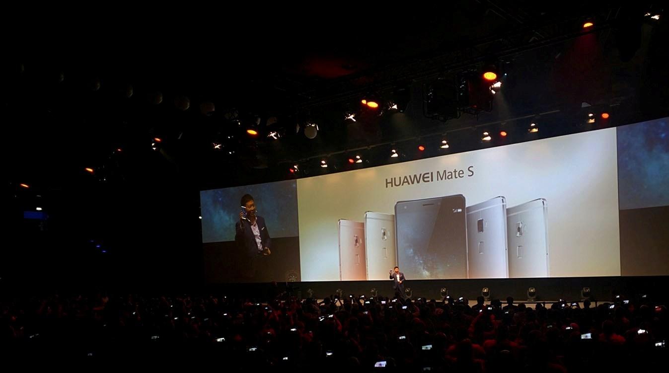 Смартфон Huawei Mate S: китайский ответ «яблочному» фаблету iPhone 6 Plus с модулем 3D Touch