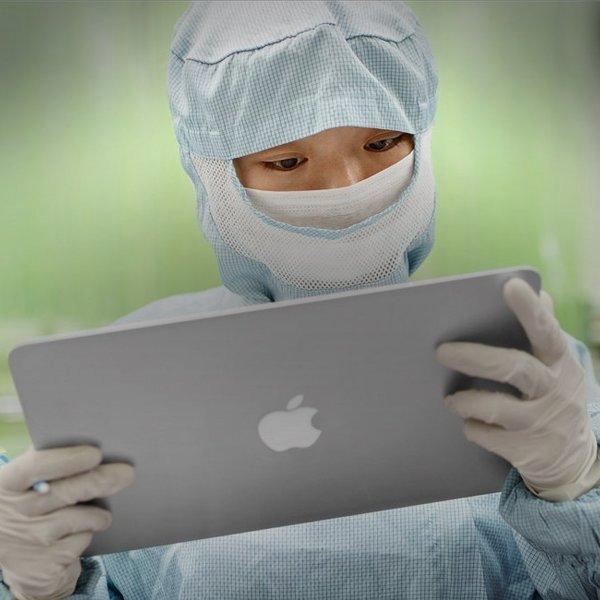 Apple, iPhone, iPad, iOS, iPad Pro, MacBook, iPod, OS X, ноутбук, планшет, смартфон, плеер, Проникновение на «режимный объект»: Apple показала ранее секретную лабораторию