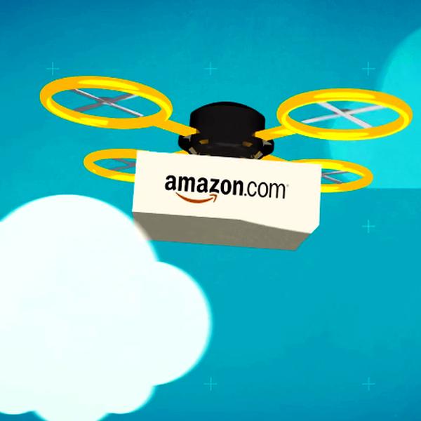 Amazon,авиация,беспилотник,дрон, Amazon Prime Air: беспилотник впервые в истории доставил посылку реальному клиенту
