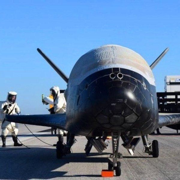 Boeing,NASA,авиация,космос,беспилотник, Секретный X-37B прервал космический полёт и вернулся на Землю