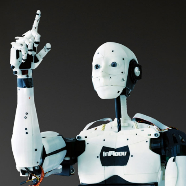 робот,киборг,дрон, «Только имитация жизни?»: на выставке показали гуманоида InMoov