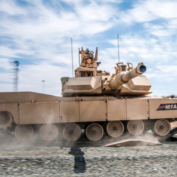 война, Танк M1A2 «Абрамс» с комплексом активной защиты Trophy