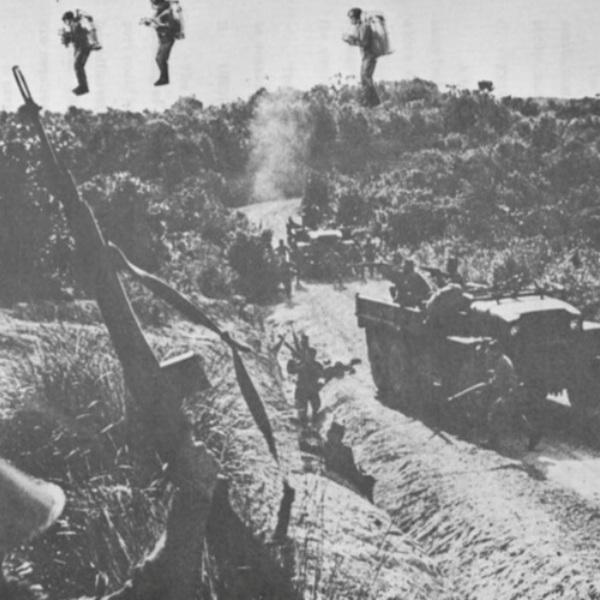 История, война, Ранец с реактивным двигателем мог изменить ход Вьетнамской войны