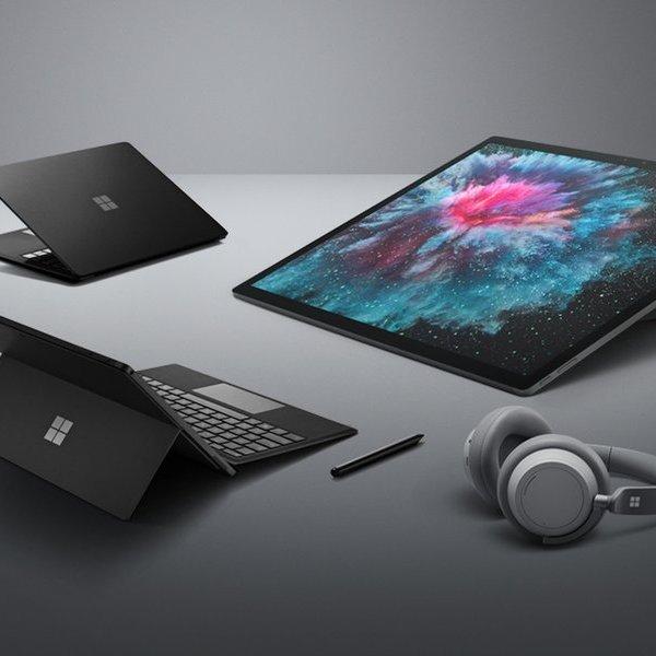 планшет, ноутбук, 5 главных анонсов от Microsoft на Surface Event 2018